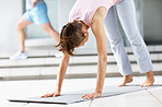 Toned and trim with yoga