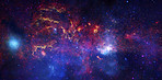 Nasa's observatories examine the galactic center region