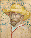 Vincent Van Gogh Self Portrait 1887