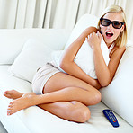 3D viewing blows her mind!