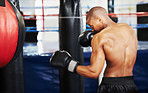 Boxing is all about dedication and determination