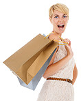 Excited about the amazing shopping spree