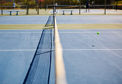 Buy stock photo A tennis court