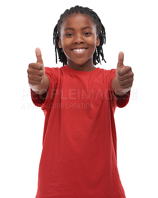 Buy stock photo A young ethnic boy on a white background