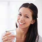 You should drink at least 8 glasses per day!