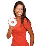 Cute female with a compact disc