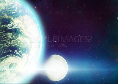 Buy stock photo Shot of planet earth showing south america - ALL design on this image is created from scratch by Yuri Arcurs'  team of professionals for this particular photo shoot