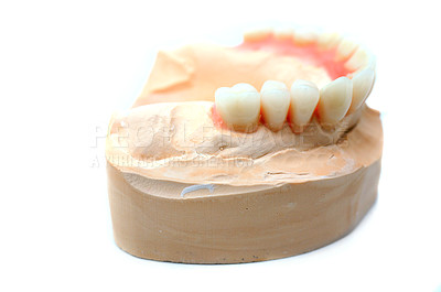 Buy stock photo False teeth