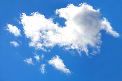 Buy stock photo A nice blue sky for background