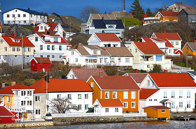 Buy stock photo Norwedish Houses (Very High Native Resolution)