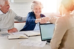 Seeking the advice they need for a secure financial future