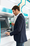 Making a quick cash withdrawal