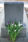 Flowers for the dearly departed