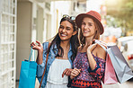 The best shopping sprees are had with your best friend