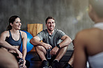 Join the gym and join with other fitness minded people