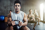 Killing that kettlebell workout