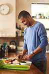 Making a healthy meal from scratch