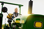 Trading modern toys for tractors