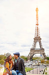 Romance under the Eiffel Tower