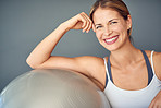 Time for a total body workout with a stability ball