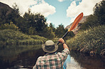 Paddling towards a new adventure