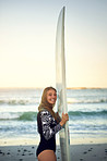 Just me and my surfboard