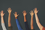 Raise your hand if you're part of our team