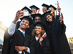 Graduating from the university of selfies