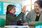 Becoming a top student with the help of her teacher