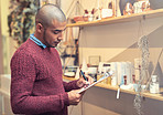 Managing his store wireless