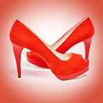 Red heels can conquer the world
