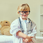 When I'm big I want to be a doctor