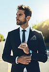 The definition of the perfect businessman