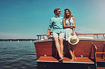 Sunshine, romance and a boat. Good times guaranteed