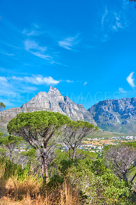 Buy stock photo Images of Table Mountain - Cape Town, Western Cape