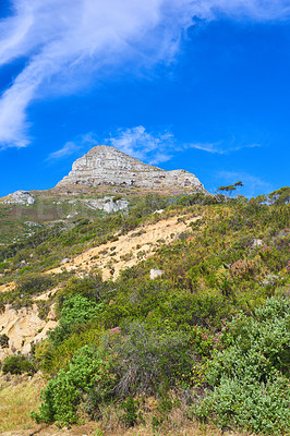 Buy stock photo Cropped shot capturing the beauty of Cape Town, South Africa
