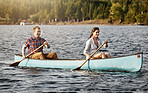Canoeing is even better when it's shared