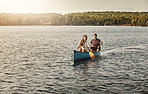Row the way to a romantic day