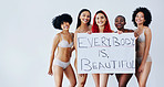 They believe that every body is beautiful