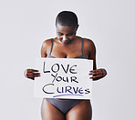 Love your curvilicious body
