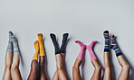 Fun and funky socks