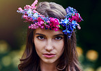 Flower crown fit for a queen of nature