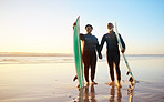 Surfing keeps us young and fit