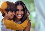 Mom's love, the foundation on which happy childhoods are formed