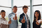 Thumbs up to creating a successful business