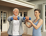 Keeping young and fit with lifting weights