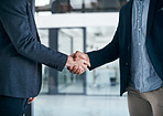 Solid handshake for a solid business deal