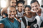 Celebrate a gym session with a selfie