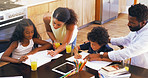 Play an active role in your child's homework