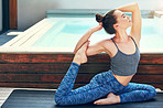 Doing yoga will make your life  more peaceful